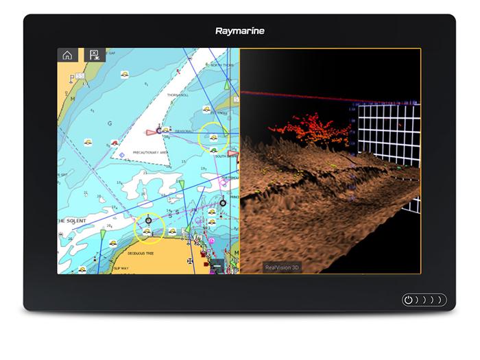 Raymarine Axciom with RealVision™ 3D Sonar