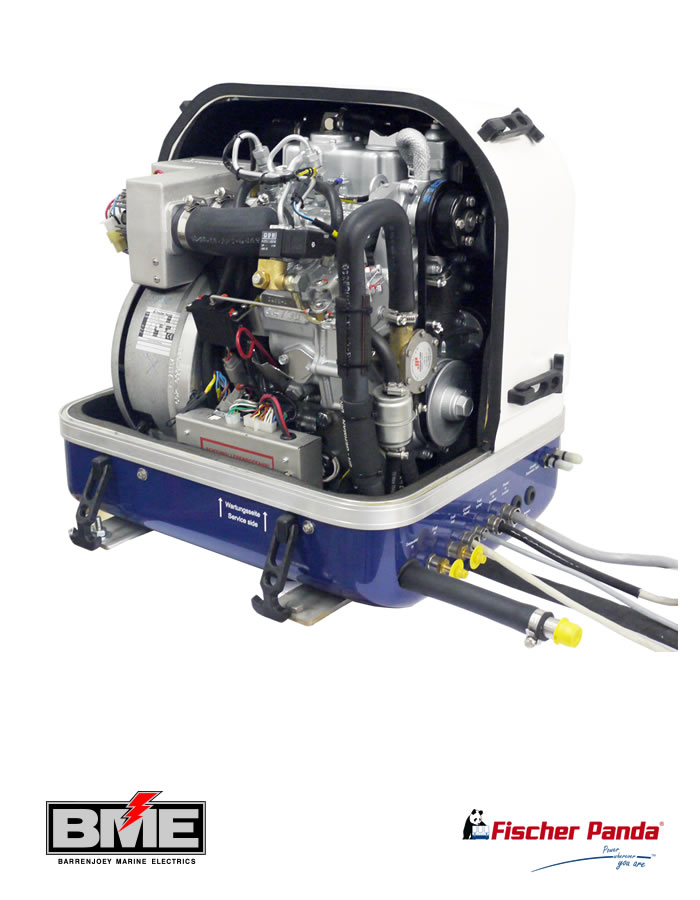 Fischer Panda 8000I PMS 230V 50Hz 8kW Marine Generator
