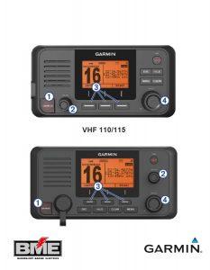 Garmin VHF 215i Marine Radio