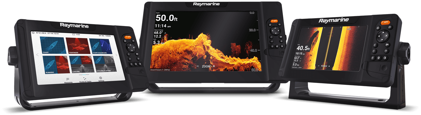 New Raymarine Element Sonar GPS Fishfinder
