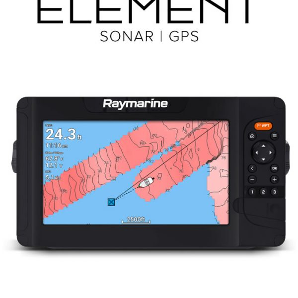 Raymarine Element Sonar GPS Fishfinder