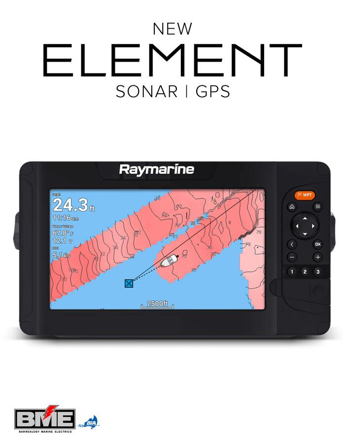 Raymarine Element Sonar GPS Fishfinder