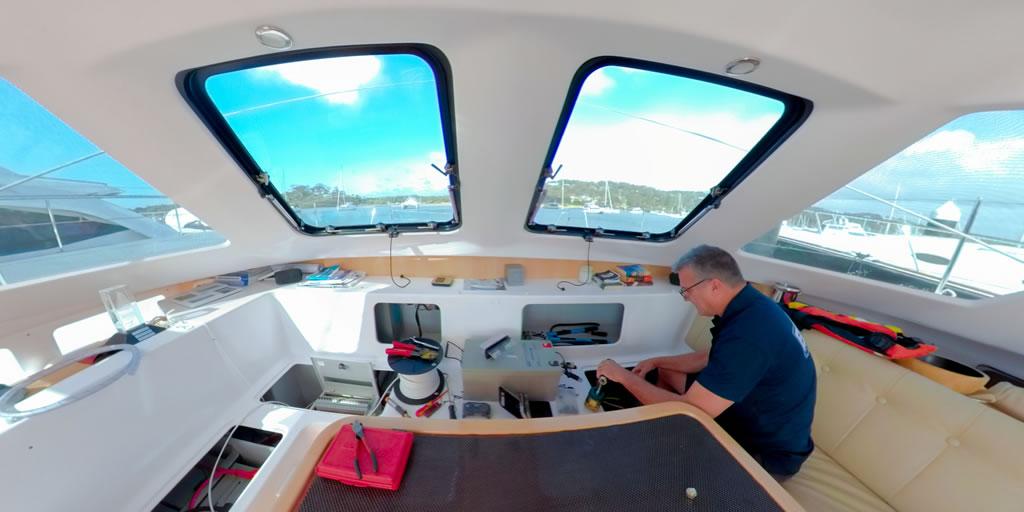 Seawind Boat Refit Project